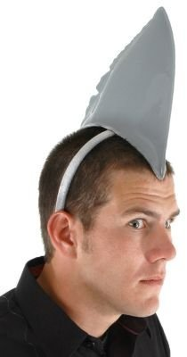 Shark Fin Costume Headband for Adults and Kids by elope]()