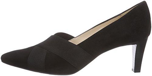 Cerrada De schwarz Suede Con Kaiser Punta Mujer Zapatos Negro 240 Peter Malana Tacón 0tqxnZ