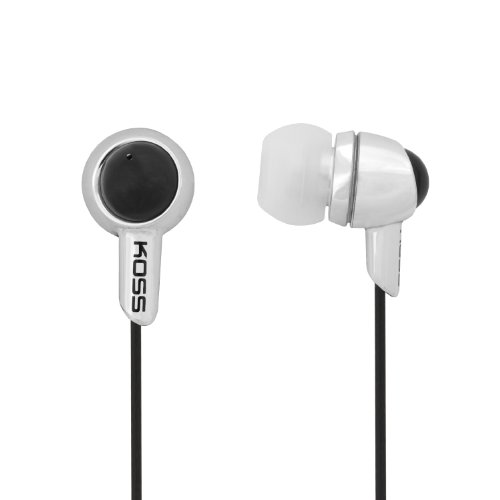 Koss KEB30S In-Ear Headphone, Silver