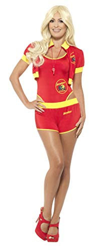 Smiffy's 42962s Deluxe Baywatch Lifeguard Costume (small) -
