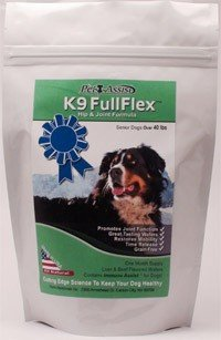 K9 Fullflex Hip and Joint Formula-for Senior Dogs Over 40 Lbs, My Pet Supplies