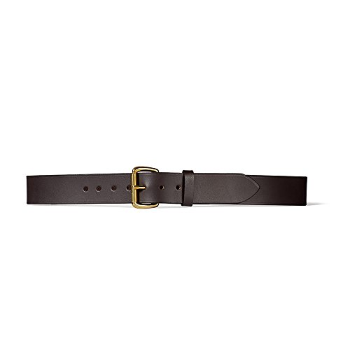 Filson 1 1/2 Inch Leather Belt - Brown - 44 Inches 63202 (Filson Leather Belt compare prices)