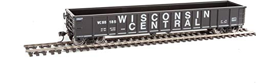 (Walthers HO Scale 53' Thrall Smooth-Side Gondola Wisconsin Central/WC #55185)