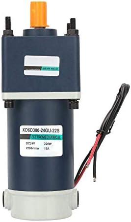 ZJN-JN DCギヤードモータは、永久磁石モーター24V 300Wのハイねじり永久磁石DCギヤードメタルギア減速モーター15ミリメートルシャフト(#3) 工業用モータ
