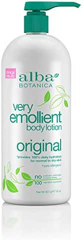 Alba Botanica Very Emollient Original Body Lotion, 32 oz.