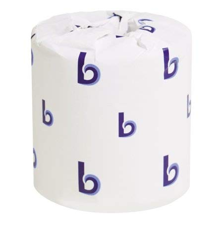Price comparison product image Boardwalk Two-Ply Toilet Tissue,  White,  4 x 3 Sheet,  400 Sheets / Roll,  96 Rolls / Carton