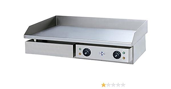 Plancha eléctrica Profesional en acero inoxidable 4400 W: Amazon.es: Grandes electrodomésticos