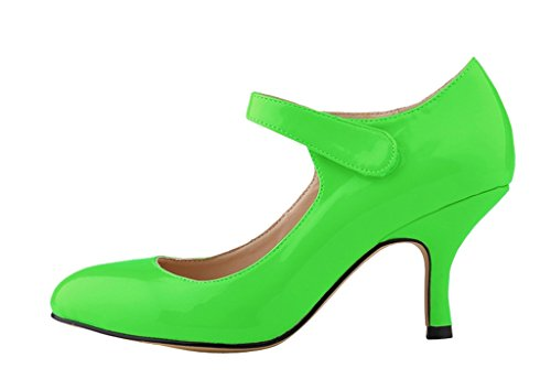 Evening Sexy green Toe Party Pointy Women's Heel patent For pu Stiletto Pumps High 02 Dress Classic Shoes H6Hxzv4nt