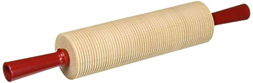 Bethany Housewares 420 Wood Rolling Pin Corrugated Bulk