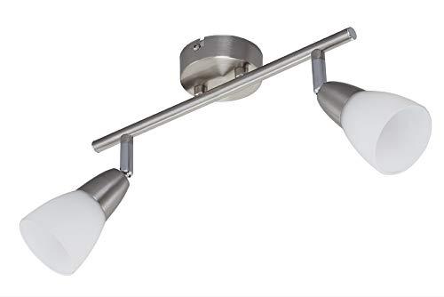 Plafoniere Con Lampadine : Briloner leuchten plafoniera con lampadine e max w