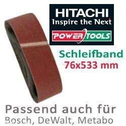 Disco lija 76x533mm grano 100 Hitachi tools