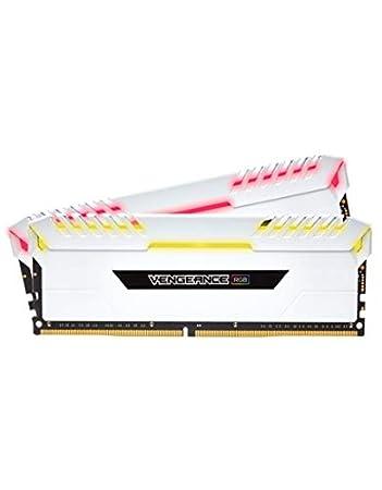 Corsair Vengeance RGB 16GB (2x8GB) DDR4 3000 (PC4-24000) C16 Desktop Memory for Intel 100/200 Series - White PC Memory CMR16GX4M2C3000C16W Memory at amazon