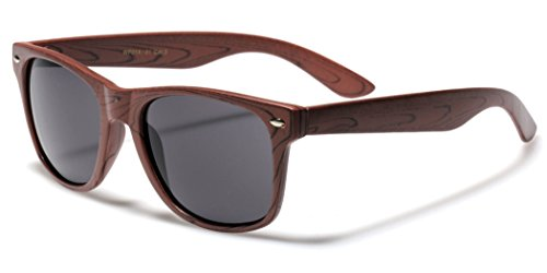 Rose Wood Print Frame - Sunglasses Woodgrain