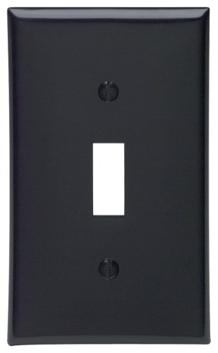 wall plate cover black - 6