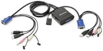 2-Port USB KVM Switch w Audio