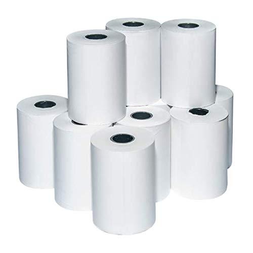 79 mm x 20 Meter(3 Inch) Thermal Paper Roll(Pure Black Printing) for  Billing Machine(WEP, Epson, TVS, Balaji, etc), Swipe Machine, Handhald  Machine etc.(30 Rolls): Amazon.in: Office Products