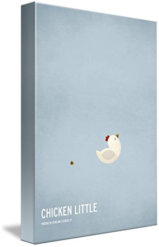Wall Art Print entitled Chicken Little by Christian Jackson | 33 x 48 by Imagekind