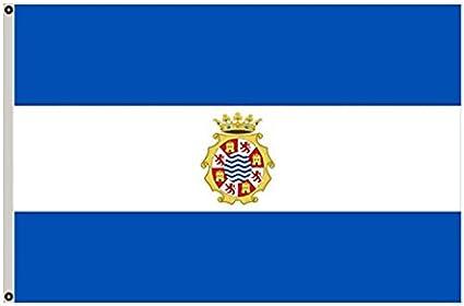 Gran bandera Jerez de la frontera, Andalucía España Bandera 3 x 5 ...