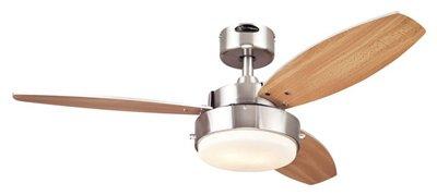 Westinghouse Fan & Lighting 72473 Ceiling Fan, Brushed Nickel, 42-In. - Quantity 1