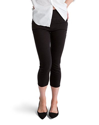 Spanx The Signature Capri Jeans, SD6015, Basic Black, 30