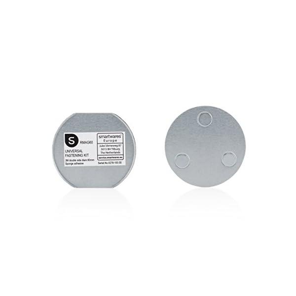 31yHt jnUeL Smartwares RM370 Kohlenmonoxid CO Melder mit Display und Temperaturanzeige, Prüftaste, 1 Stück & Magenthalter für…