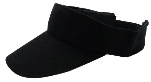 Trendit Pantalla de Muetze Gorro Mujer Hombre Negro Deportes Media Gorra con Velcro, Muchos Colores–(Negro) 4072 Muchos Colores-(Negro) 4072 Valice Paris