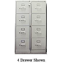 Locking Bar for Use with 5 Drawer Filing Cabinet (cabinet not included) by ABUS
