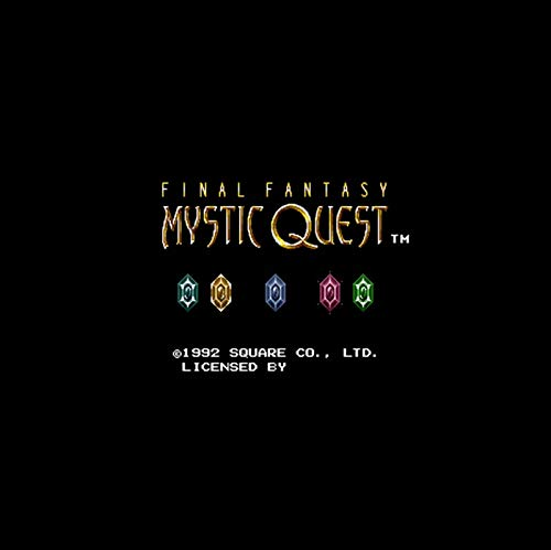 Final Fantasy - Mystic Quest Ntsc Version 16 Bit 46 Pin Big Gray Game Card For Usa Game Players