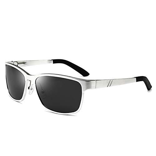 de magnesio Aluminio Gafas D Gafas Que conducen nbsp;cuadradas Deportivas nbsp;polarizadas C Sol sunglasses Gafas Hombre Mjia Las BqFwXF