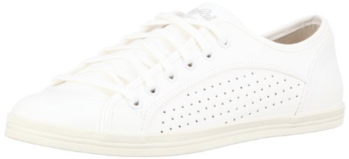 Buffalo 507-9987 TUMBLE PU 126246 - Zapatillas con cordones para mujer Blanco