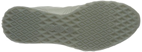 EU Ladies Gris Basses Sneak 50399gravel Femme White Baskets Ecco Gravel Gravel Weiß 42 R60wx