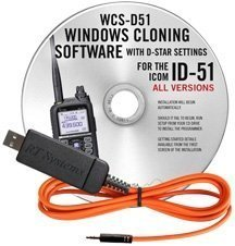RT Systems Original WCS-D51 USB Software (Version 5 0) and USB Programming  Cable (USB-RTS05) for ALL versions of the ID-51 Series