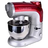 Red Torino Food Processor, Stand Mixer Fruit Blender Meat Mincer Pasta Maker 800W