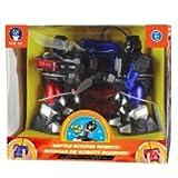 robots boxing - Battle Boxing Robots Blue Hat 2 Player Remote Control