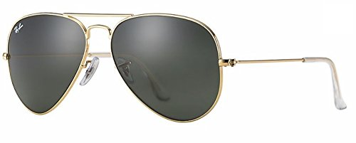 Ray Ban RB3025 L0205 58M Gold/ Grey Green - L0205 Ray Ban