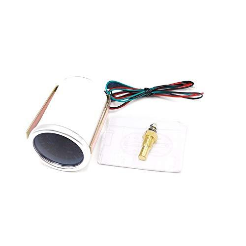 Mouchao 12V Oil Temp Gauge Meter 40-150℃ Tester 52mm Smoke Lens Universal