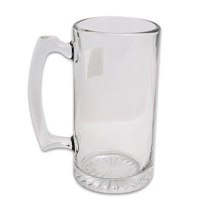 1-piece-of-265oz-LIBBEY-DIAMOND-BOTTOM-CLEAR-GLASS-BEER-MUG