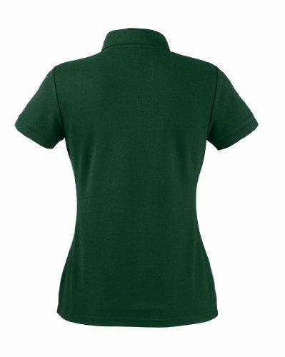 Ladies Polo-Shirt aus Mischgewebe, Farbe:Bottle Green;Größe:S