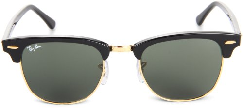 Ray-Ban-Clubmaster-Sunglasses-Ebony-Arista-G-15-XLT