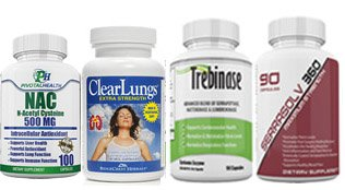 Lung Health and Lung Fibrosis Package #5 - Dissolve Scar Tissue in