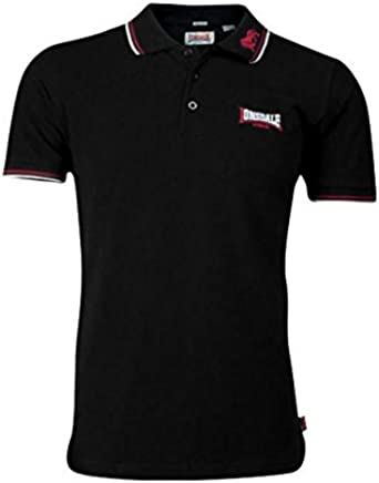 Lonsdale Polo Lion Men Slim Fit Polo – Negro: Amazon.es: Ropa y ...