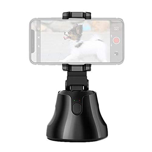 Qiopes Smartphone Selfie Ripresa Gimbal 360 ° Follow-up Registrazione Video PTZ Teste per treppiedi