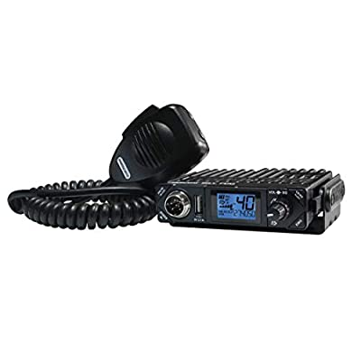 President Electronics BILL CB Radio, 40 Channels AM, 12 Volts, USB 5V/2.1A, Up/Down Channel Selector, Volume Adjustment and ON/OFF, Manual Squelch and ASC, Multi-functions LCD Display, S-meter: Electronics