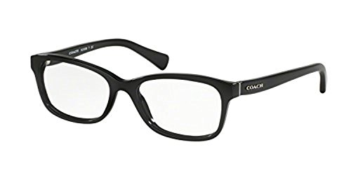 Coach Womens HC6089F Eyeglasses Black 51mm