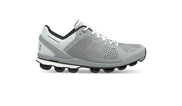 On Running Cloudsurfer Glacier - Zapatillas de Running, Color Negro: Amazon.es: Zapatos y complementos