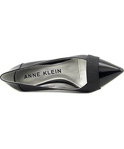 Anne Klein Womens finn Leather Pointed Toe Classic Pumps Black M Le cheap great deals fake for sale sale sale classic d6DyMtX