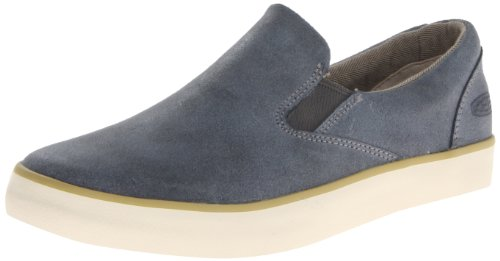 Keen Santa Cruz Slip-On Leather, Sneaker uomo Blu Oceano (Oceano)