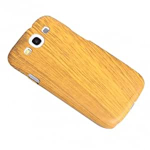 Wood Grain Protective Back Case for Samsung Galaxy S3 I9300 --- Color:White
