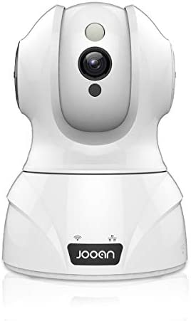 Security Camera Wireless, JOOAN 3MP HD Home Wireless Baby Pet Baby Monitor Camera with Cloud Storage Two-Way Audio Motion Detection Night Vision Face Sound Detection and Smart Movement Tracing