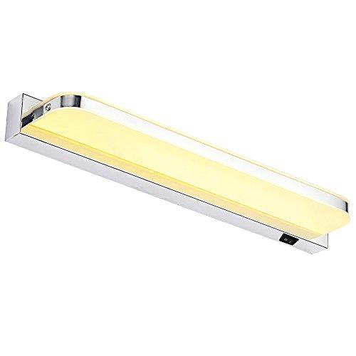 Dailyart® 7W Warmweiß LED Spiegelleuchte Wandleuchte Badezimmerlampe, 42 X 7 X 4.5cm [Energieklasse A+]